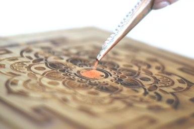 Mindfulness Meditation - Sand Mandala Art