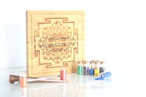 sand mandala art meditation set for mindfulness